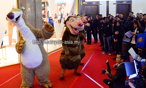 20th Century Fox World Studio Store opening Malaysia