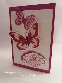 "Karte ""Schmetterling"" mit Stampin´ Up!"