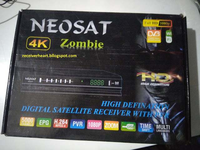 NEOSAT ZOMBIE GX6605 203 00 017 NEW SOFTWARE WITH IPTV HUMTV AND CCCAM SEVER HYPER COPY