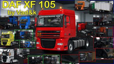 DAF XF 105 by vad&k v6.10