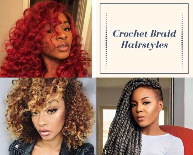 Mixture of hairstyles