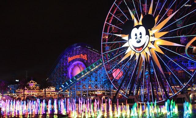 Parque da Disney em Los Angeles