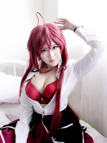best cosplay rias gremory