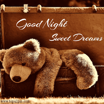 good night teddy bear picture