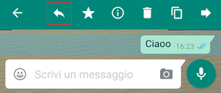 Come quotare un messaggio su Whatsapp
