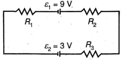 Apabila R1 = 2 Ω, R2 = 4 Ω, dan R3 = 6 Ω, kuat arus yang ...