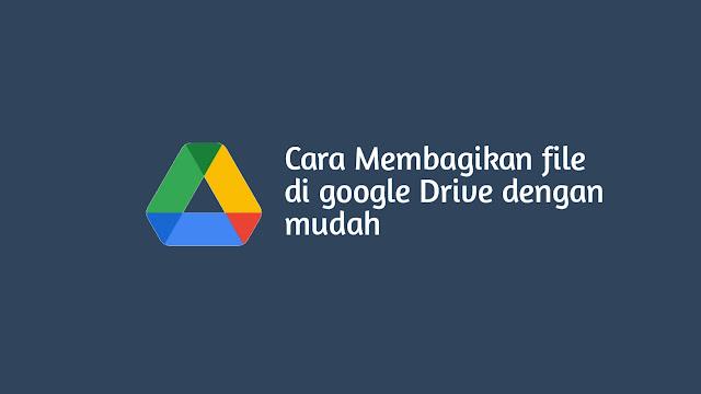 Cara Membagikan File Google Drive di Hp Android
