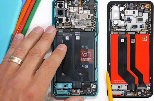 تفكيك هاتف ون بلس OnePlus 8T + الموصفات