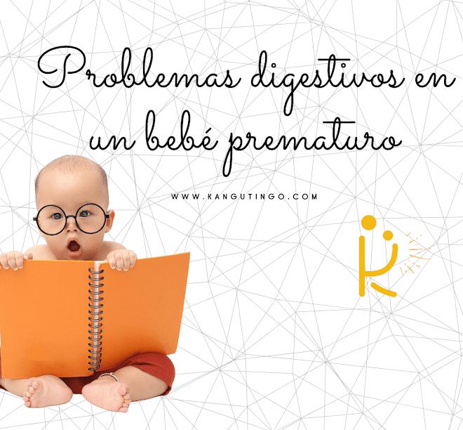 Problemas digestivos en un bebé prematuro