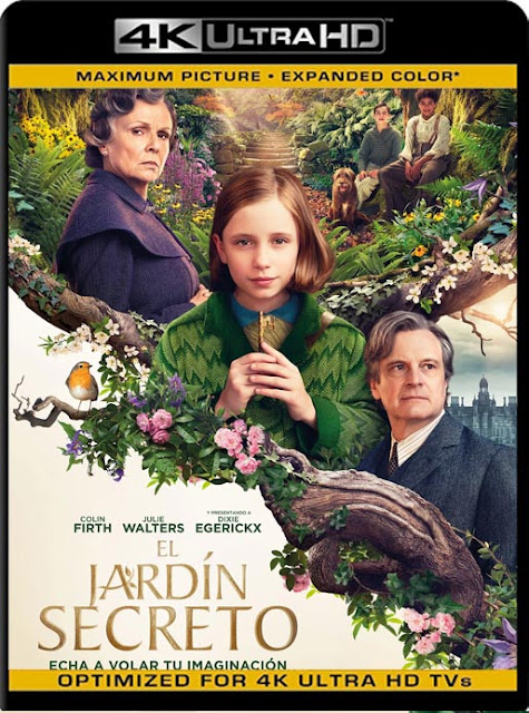 El Jardín Secreto (The Secret Garden) (2020) 4K 2160p UHD [HDR] Latino [GoogleDrive]