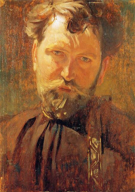 Альфонс Муха - Автопортрет-1899
