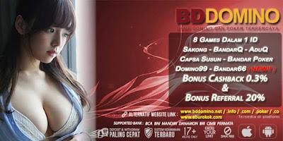 Agen Judi Online Link Alternatif Judi BandarQ BDdomino