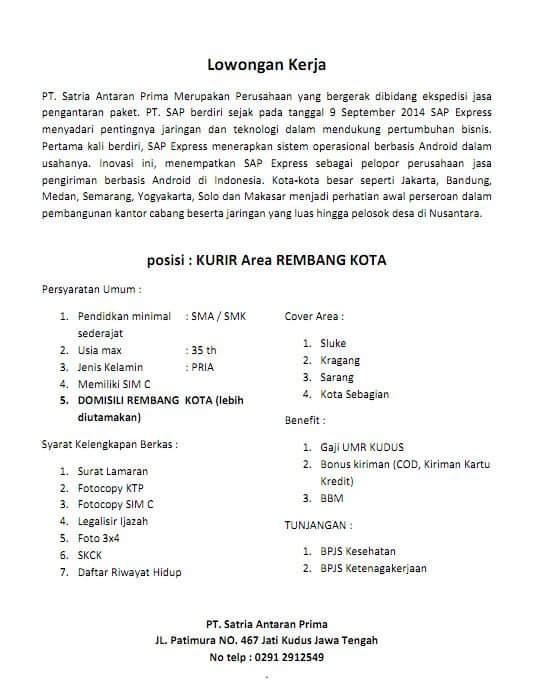 Loker Kurir Bukalapak Bandung / Lowongan Kerja Lazada ...