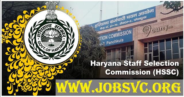 HSSC Recruitment (2019) - 3,864 Vaccancies of PGT