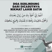 Doa Berlindung Dari Dicabutnya Nikmat Lahir Batin