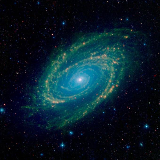 A GALÁXIA ESPIRAL M81