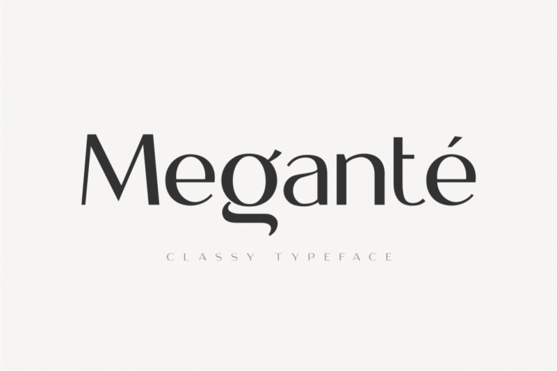 Megante Font - Free Classy Display Typeface
