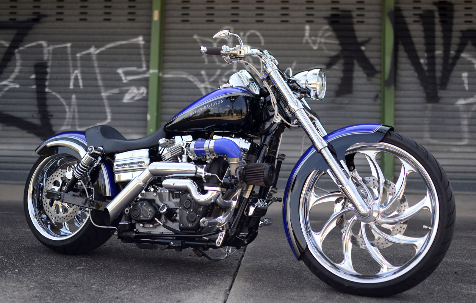 Dave's Place: Turbo Harley Super Glide