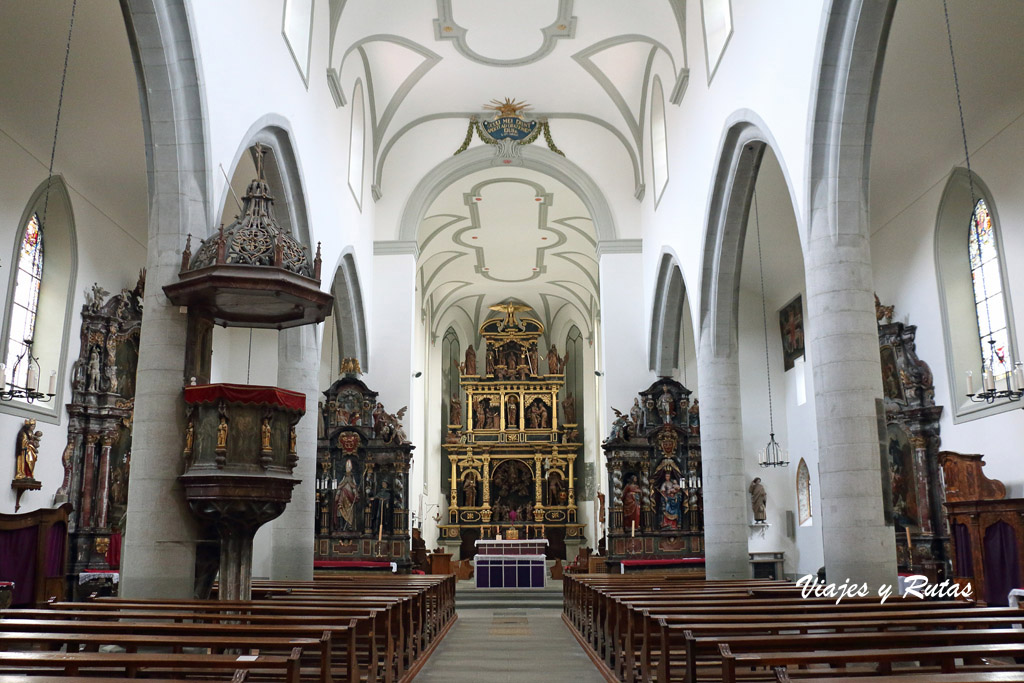 Iglesia de San Mauricio, Friburgo