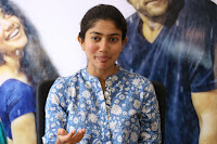 Sai Pallavi looks super cute in plain dress at her interview in Telugu about movie Fidaa ~ Exclusive Celebrities Galleries 018.JPG