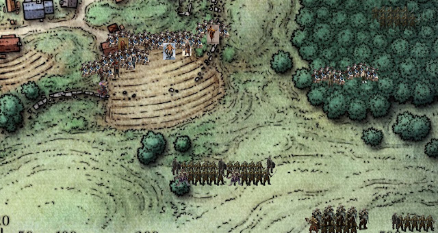 Battle lines are drawn as Orcs prepare to Invade Phandalin
