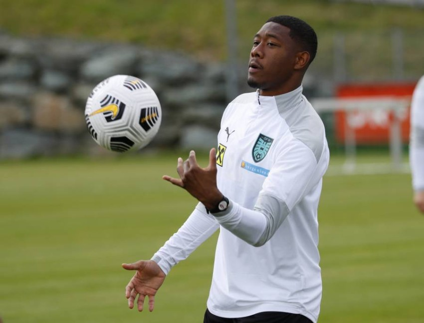 """David Alaba: To join Real Madrid is a dream come true Austrian defender David Alaba, the new deal for Real Madrid, expressed his happiness to join the royal team, describing this step as """"a dream that has come true."""""""