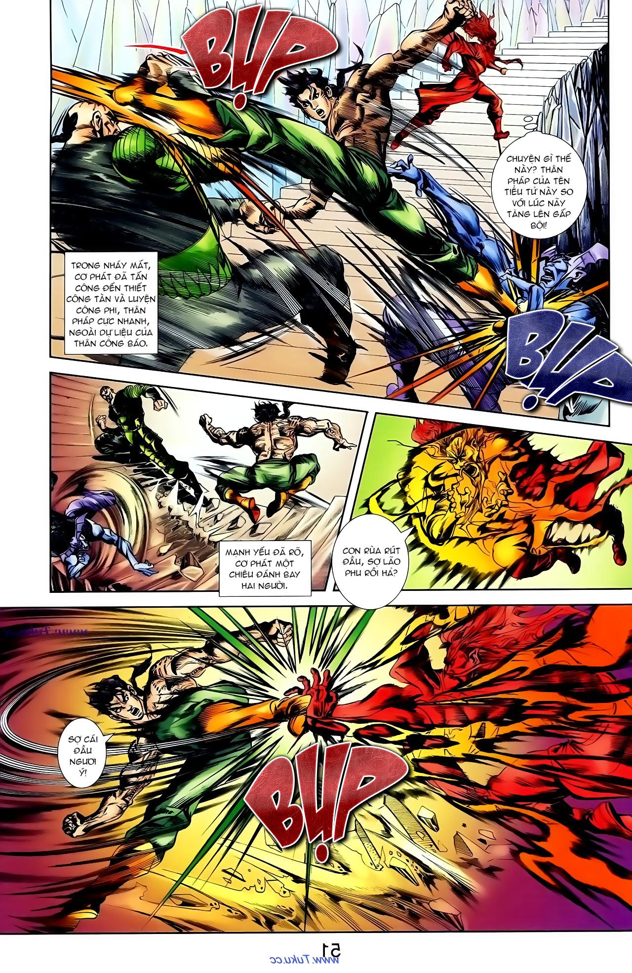 Cơ Phát Khai Chu Bản chapter 100 trang 18