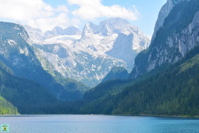 Lago Gosausee en Austria