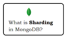 What is sharding in MongoDB?
