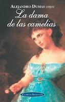 Portada del libro La dama de las Camelias de Alejandro Dumas