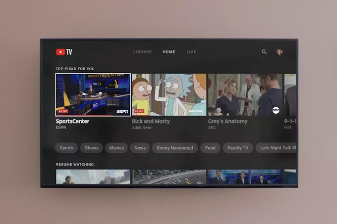 O YouTube TV está adicionando downloads off-line e streaming em 4K