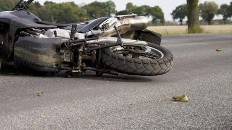 Νεκρός 85χρονος οδηγός μηχανής σε τροχαίο