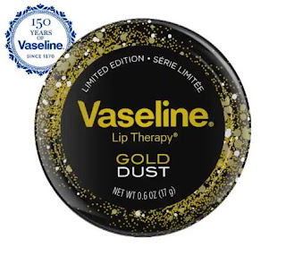 Vaseline Lip Therapy Gold Dust Tin