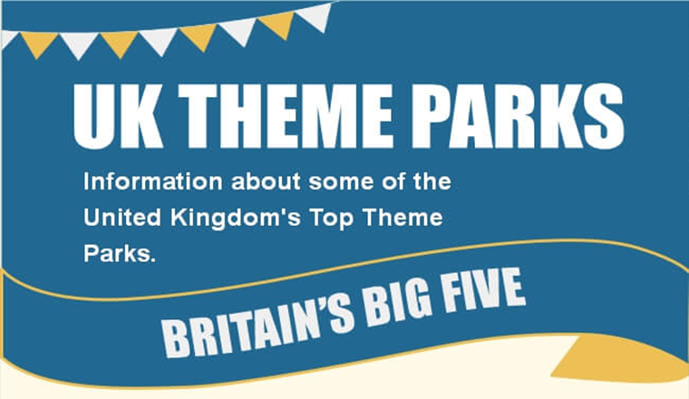 UK Theme Parks #infographic