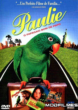 Capa do Filme Paulie: O Papagaio Bom de Papo