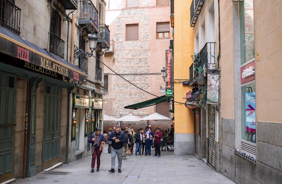 madrid pasadizo San Ginés
