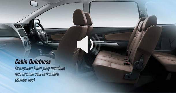 Kesenyapan Kabin Toyota Grand New Avanza