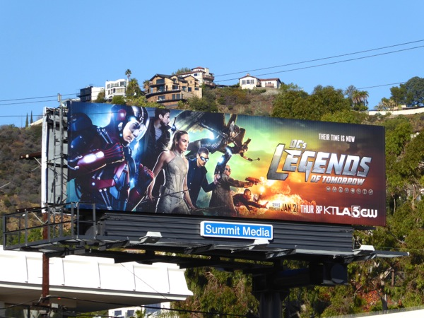 DC's Legends of Tomorrow TV billboard