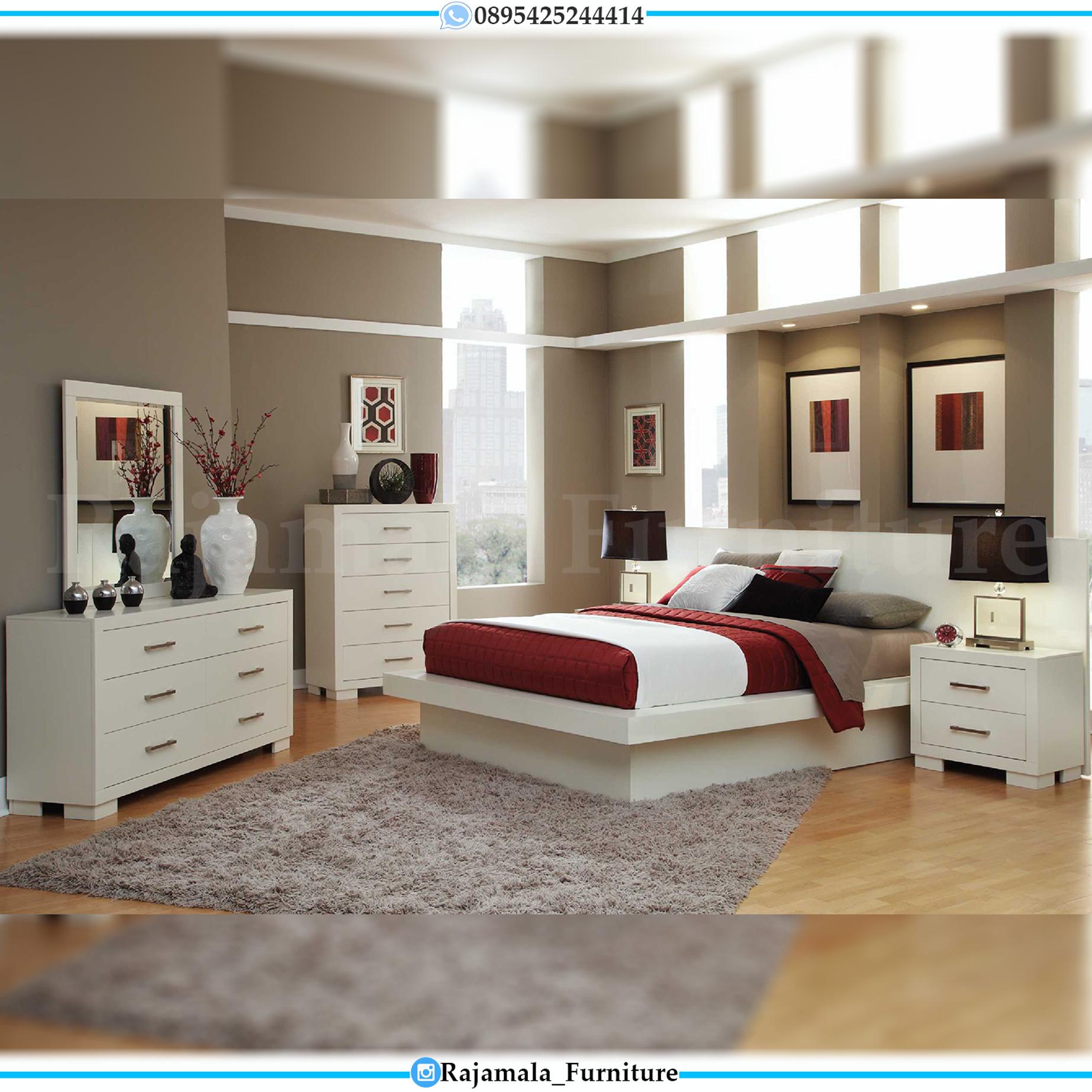 Tempat Tidur Minimalis Modern New Update Furniture Jepara RM-0073