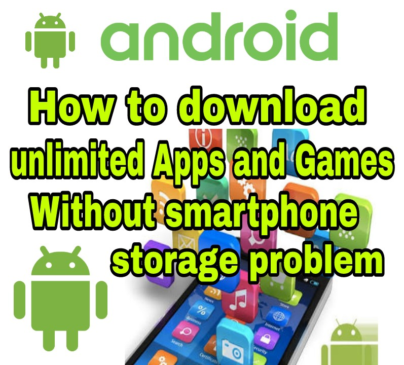 How to download unlimited Apps and Games Without smartphone