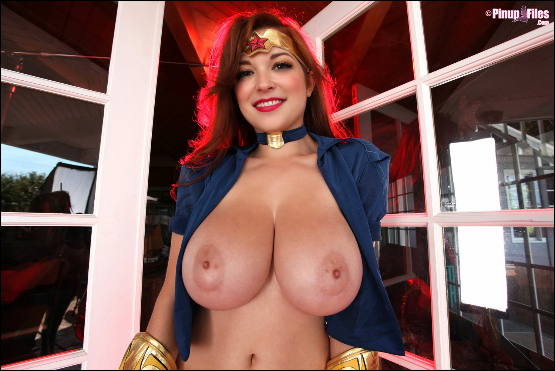 busty superhero