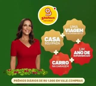 Cadastrar Promoção GBarbosa Natal 2019 dos Sonhos - Casa e Muitos Prêmios