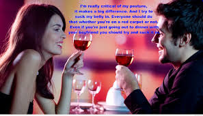 Quotes About Love Dating:  best date of girlfriend boyfriend with drink