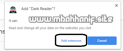 Add Extension
