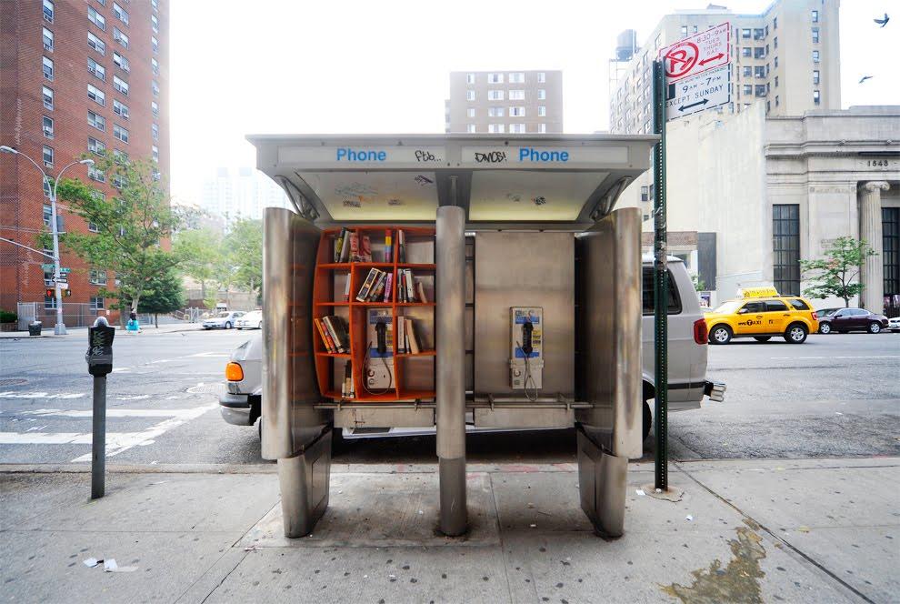 New York Public Phone Bookcase DUB 002