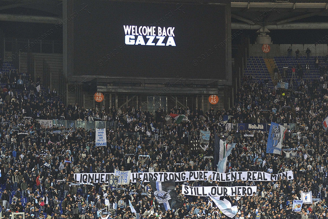GAZZA back in Rome