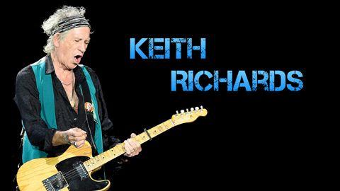 Biografía y Equipo de Keith Richards