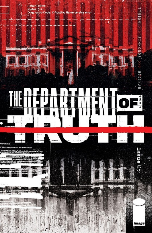 Cover of Department of Truth #5