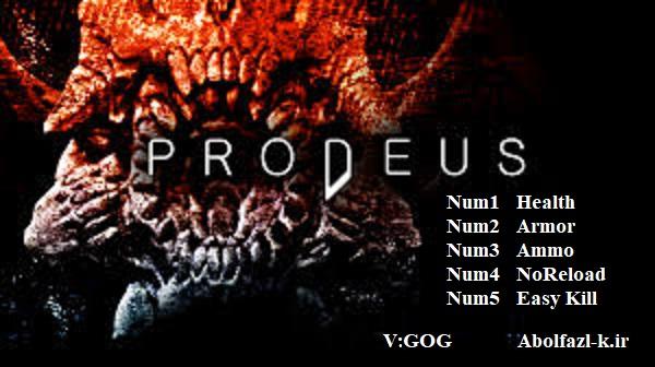 Prodeus:  Trainer (+5)