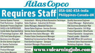Atlas Copco Jobs - Worldwide - Oil And Gas - Jobs In 2019